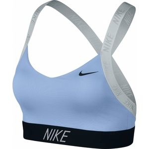 Nike Blue Indi Logo Dri-Fit Sports Bra
